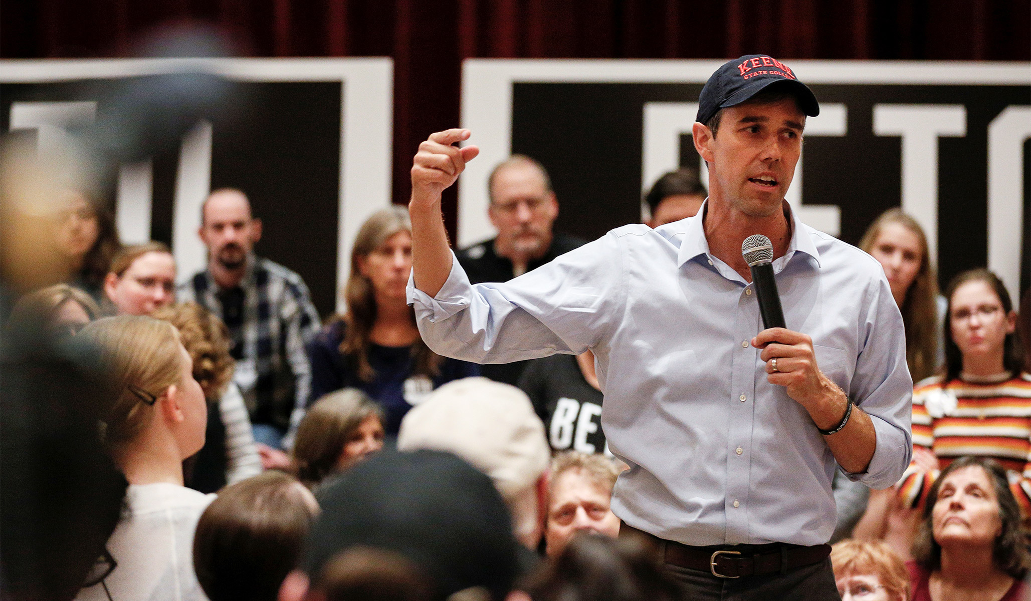 O'Rourke Defends Comments Comparing Trump's America to Nazi Germany
