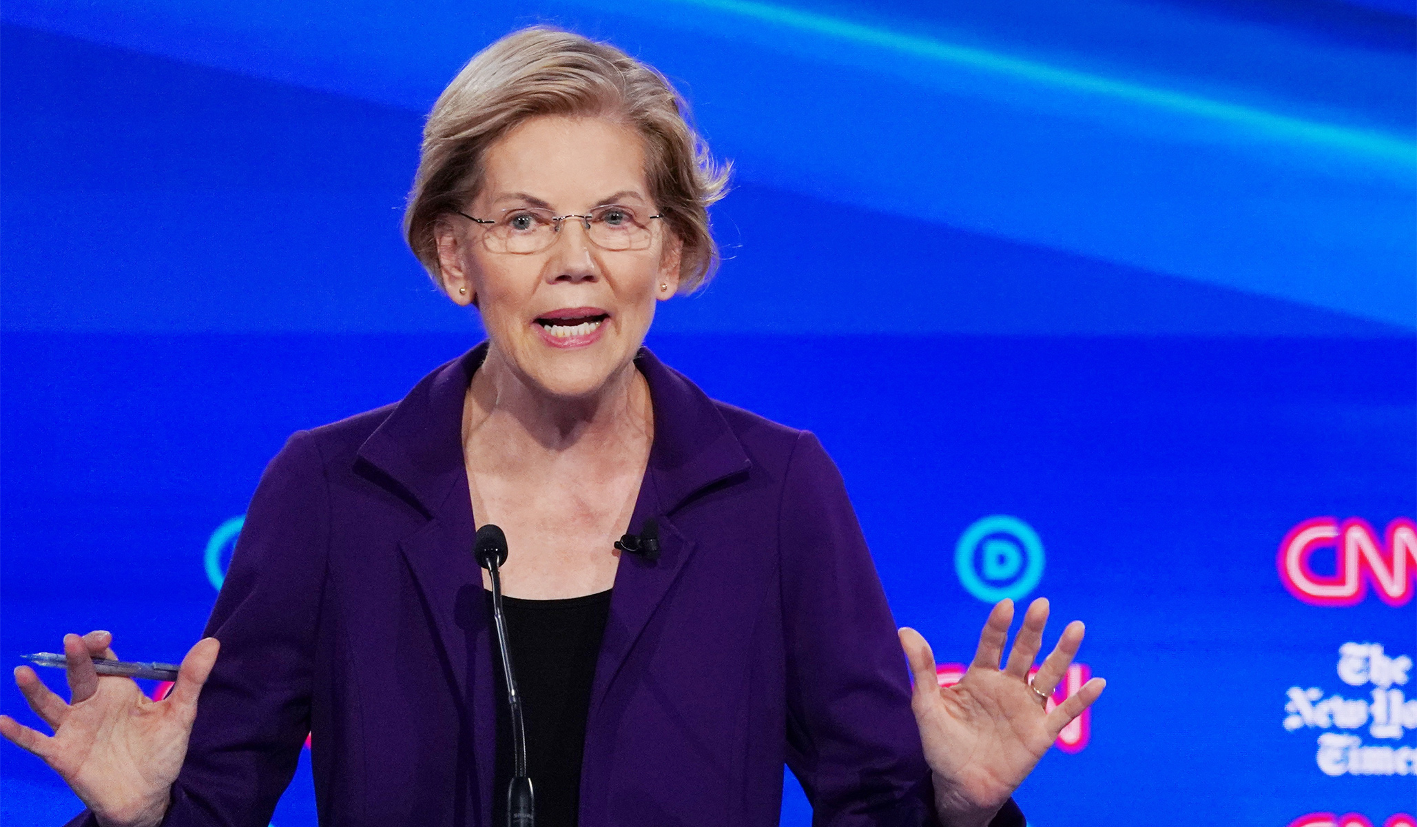 Warren Pledges to Ban for-Profit Charter Schools in New Education Plan