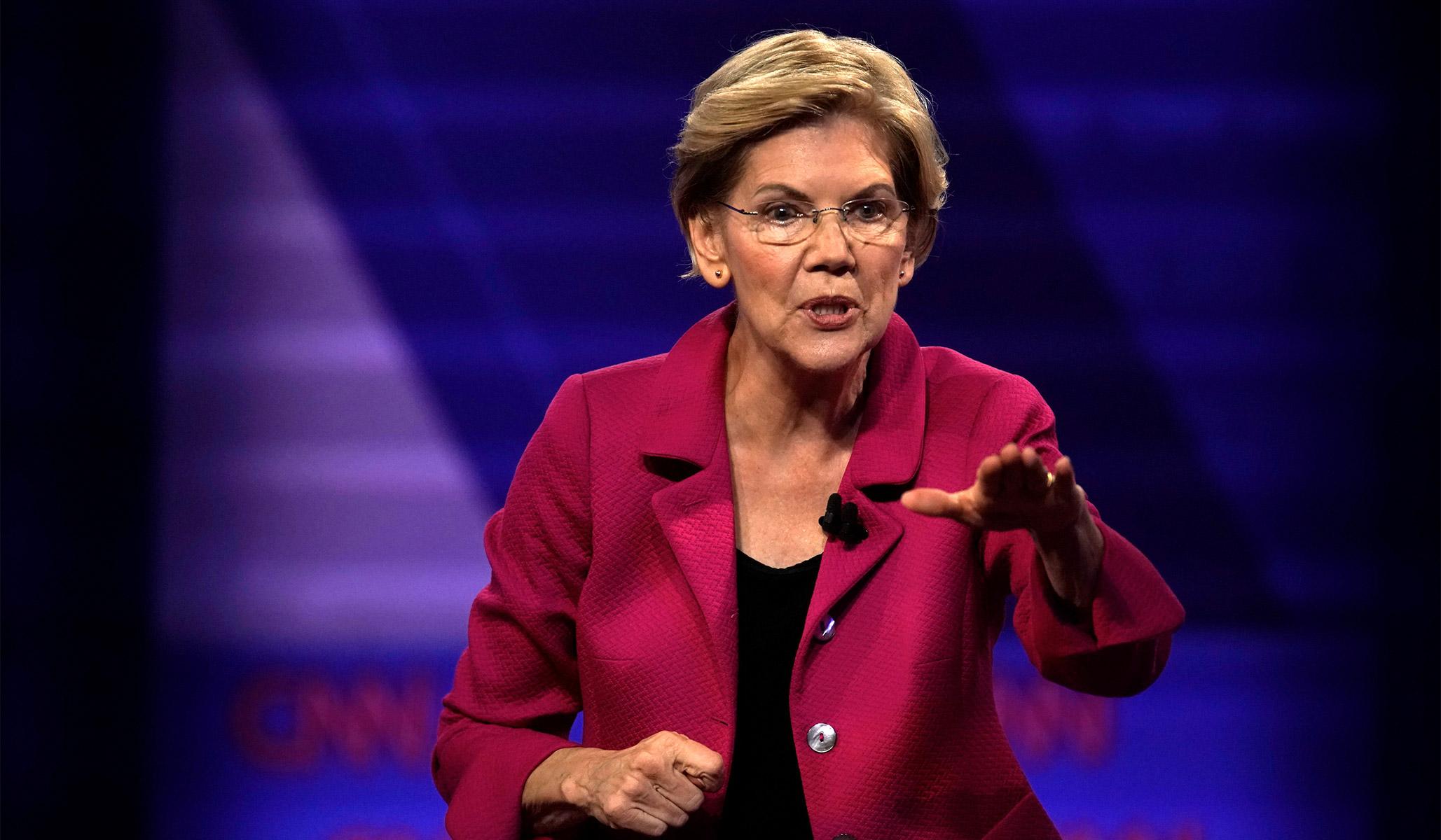 Elizabeth Warren Is Jussie Smollett