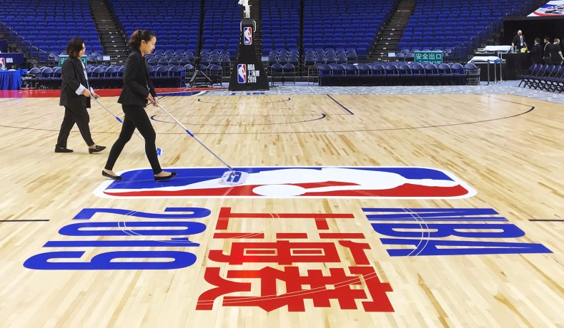 Image result for nba and china dispute