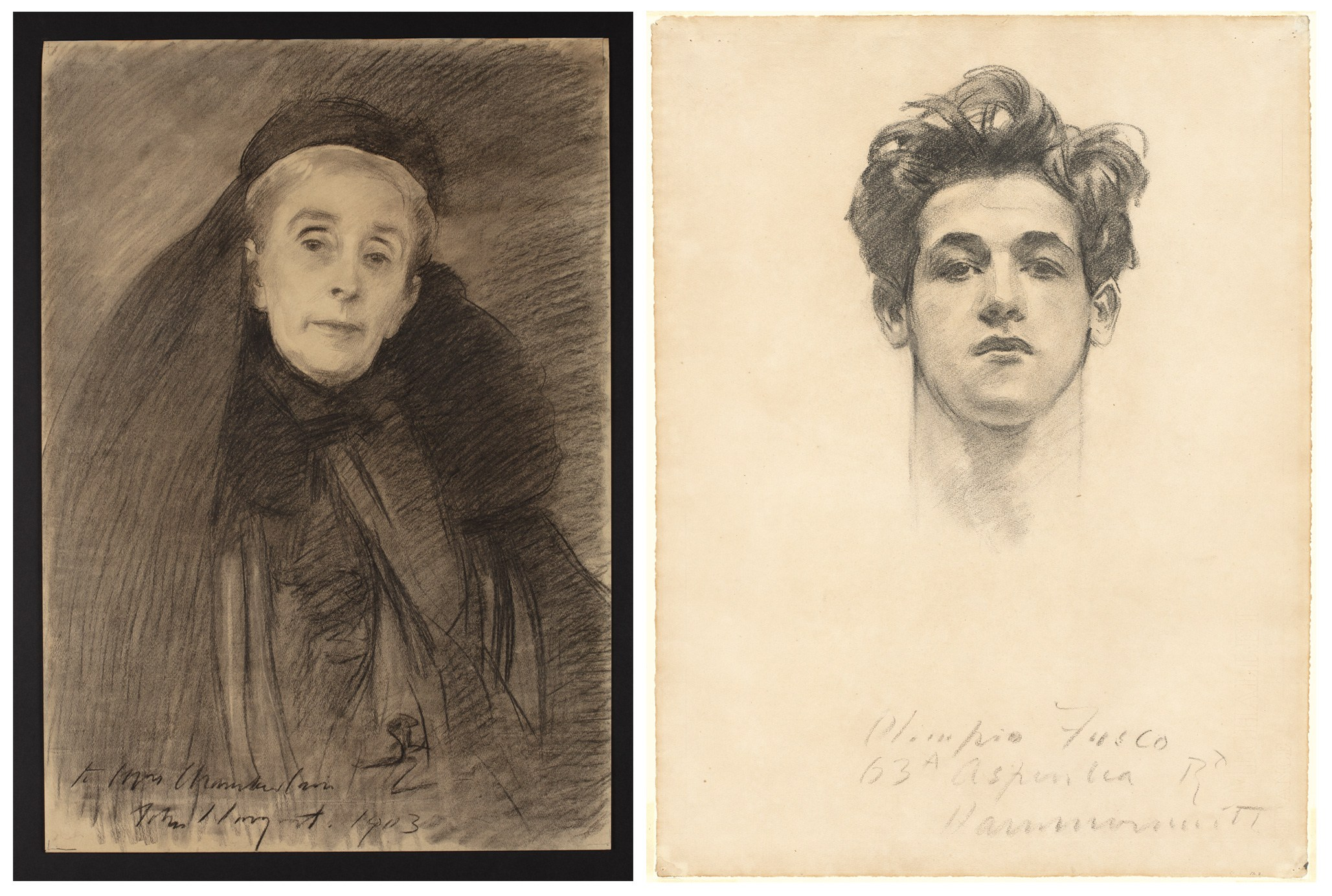 John Singer Sargent's Many Beauties, Male and Female, at the Morgan Library