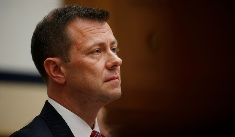 Peter Strzok Hired to Teach Counterintelligence at Georgetown University