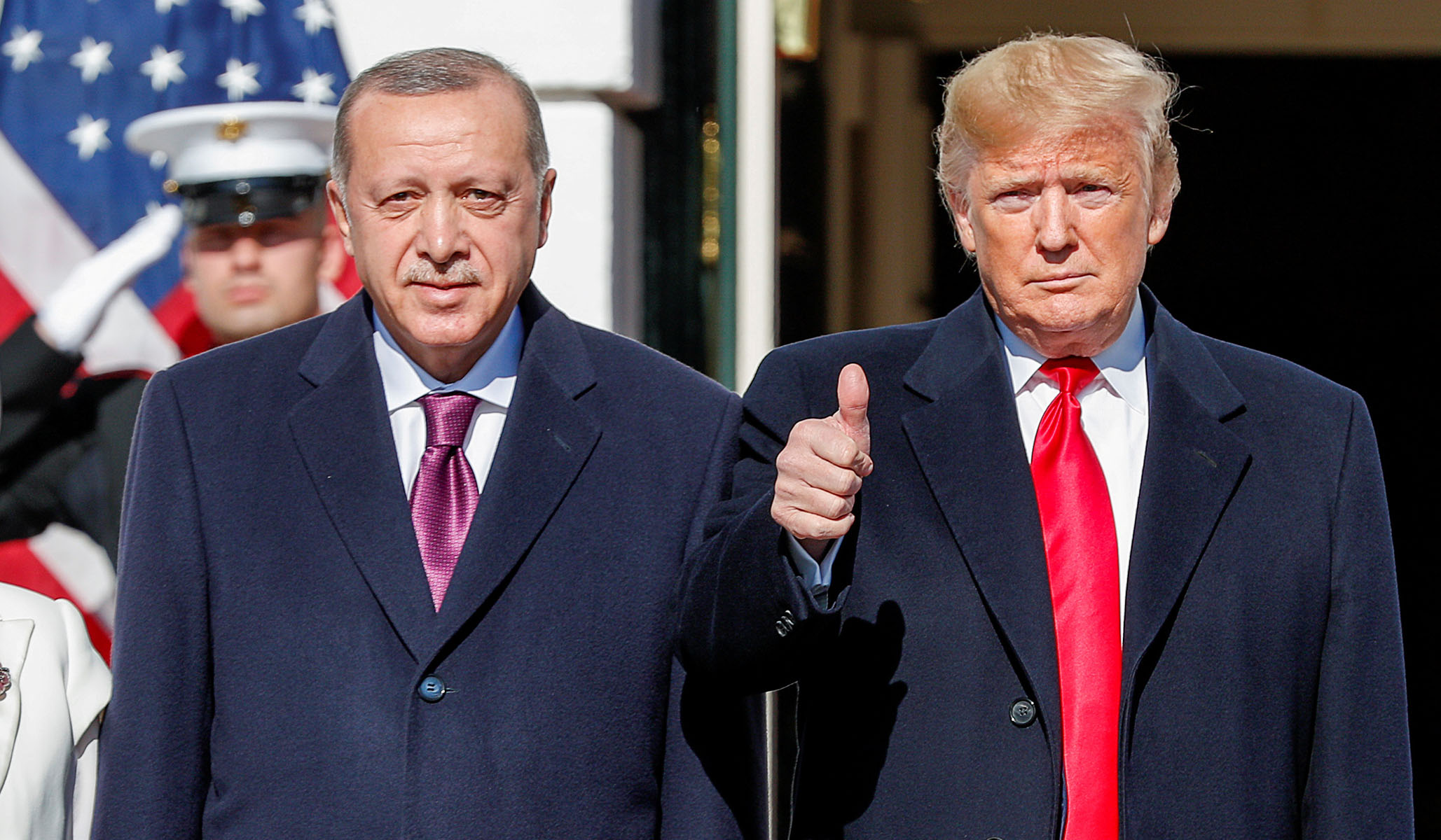 Trump Says U.S. Will Expand Trade Relationship with Turkey 'Very Significantly'