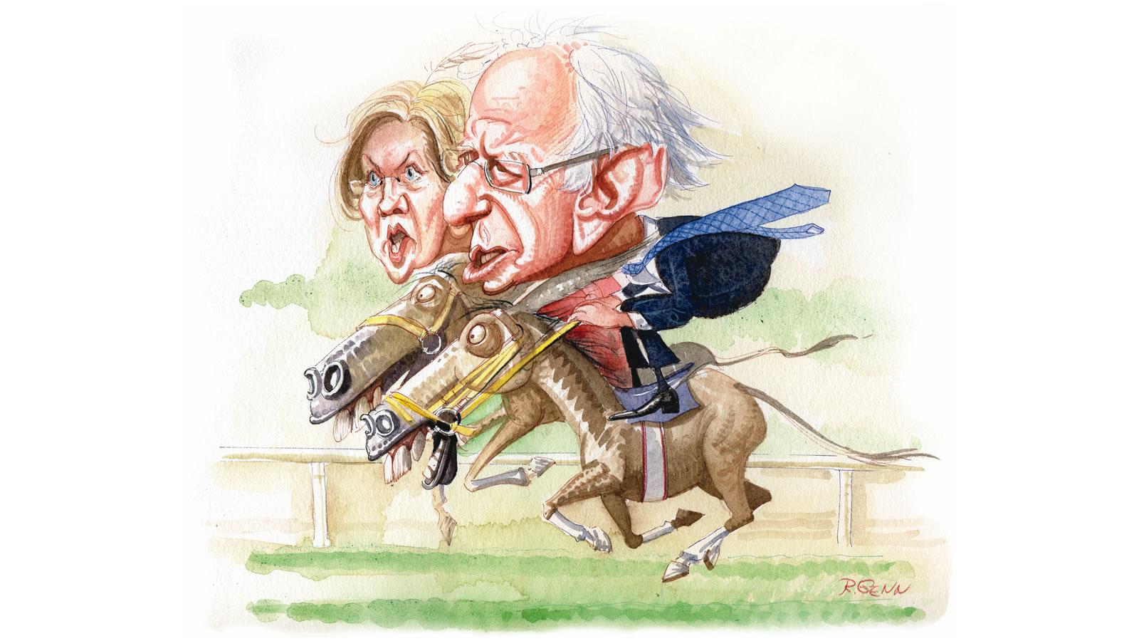 Sanders vs. Warren