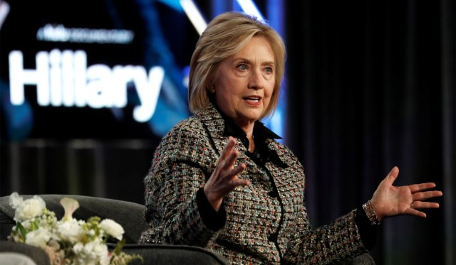 Hillary Clinton Accuses Trump of 'Taking Russian Help,' Citing Report that Trump Ousted DNI over Russia Briefing | National Review