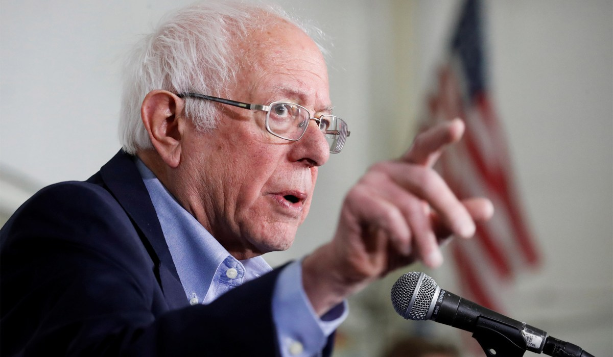 Sanders Suggests Report that Russia Is Boosting Campaign...