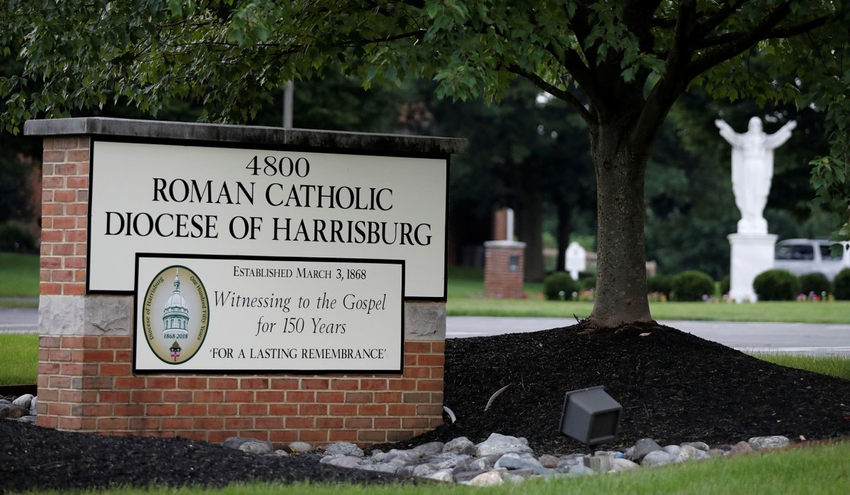 Harrisburg Catholic Diocese Files for Bankruptcy amid New...