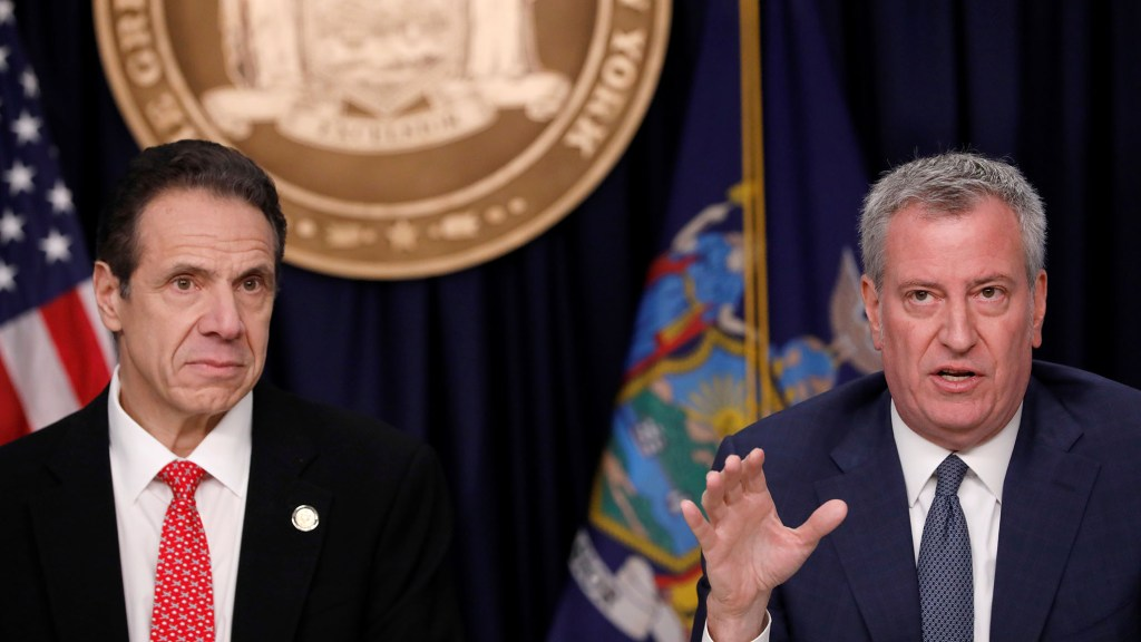 Federal Judge Rules Cuomo, De Blasio Exceeded Authority by Restricting Religious Services While Condoning Protests