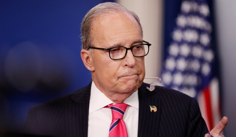 Kudlow Projects Coronavirus Aid Package to Reach 'Roughly' $6 Trillion Larry-kudlow