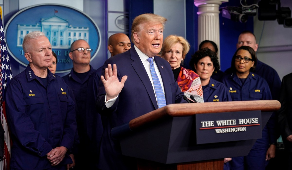 President Trump's Coronavirus Response, in Context | National Review