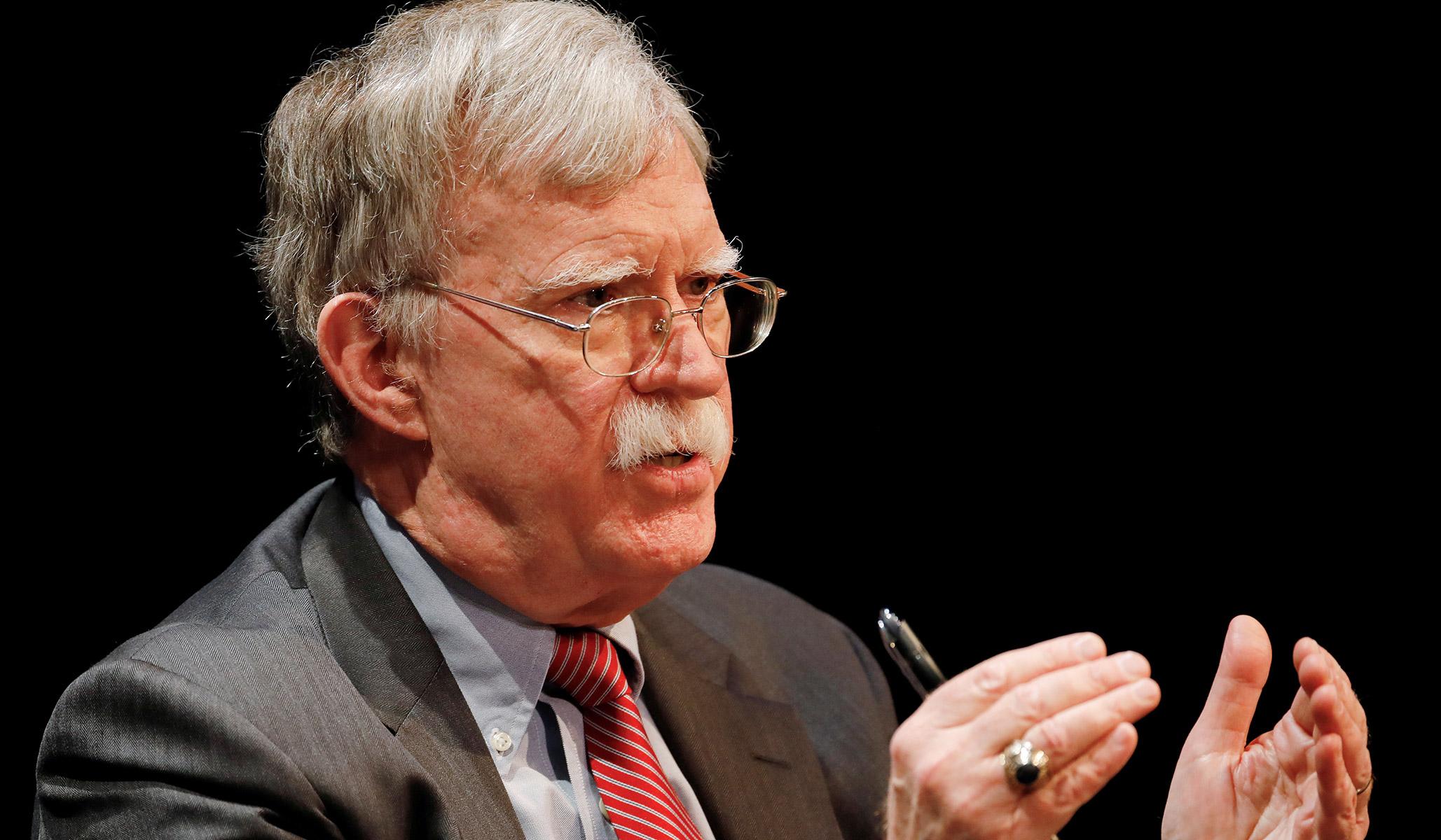 DOJ Sues John Bolton to Delay Book Publication thumbnail