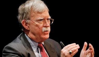DOJ Drops Case against John Bolton over White House Memoirs