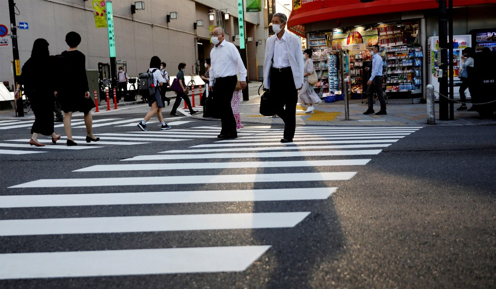 Japan's Economy Shrinks at a Record 7.8 Percent
