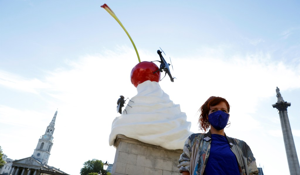 Trafalgar Square's Hideous Sculpture