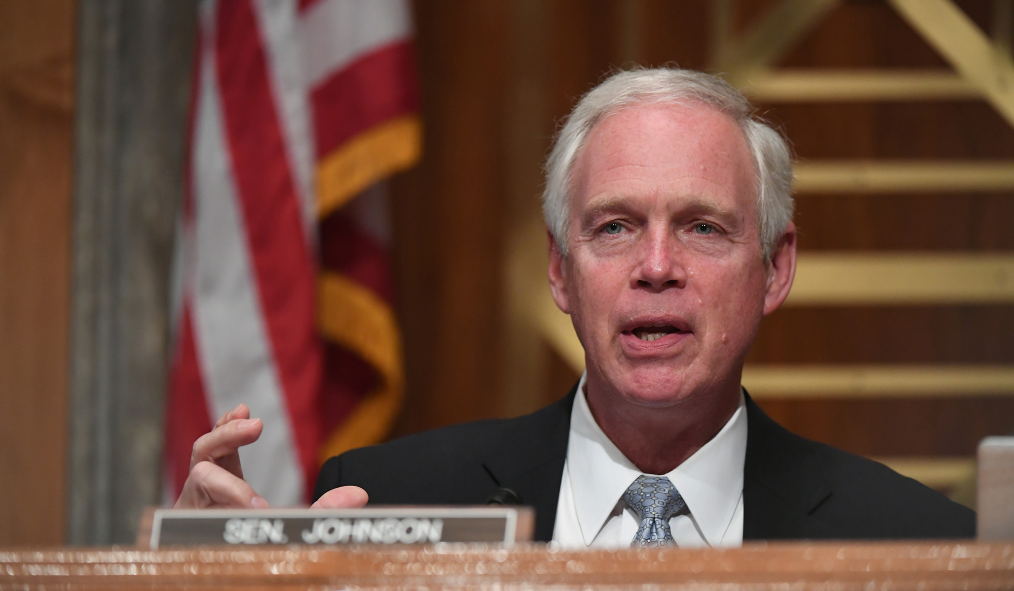 Ron Johnson Says GOP Senators on Homeland Security Committee Blocking Subpoenas of Comey, Brennan; Committee Says Comments Were Based on a Misunderstanding thumbnail