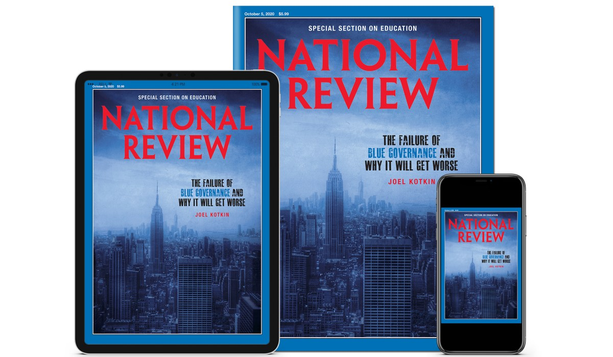Inside the October 5, 2020, Issue of National Review | National Review