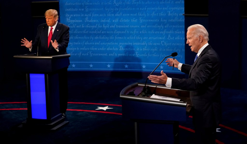 The Candidates' Dueling COVID Stats