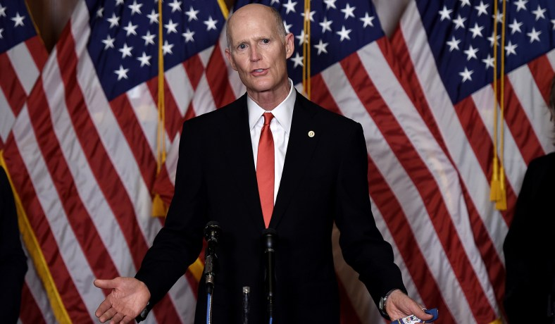 Rick Scott Criticizes Twitter for Allowing Posts by Foreign Dictators while Flagging Trump Tweets