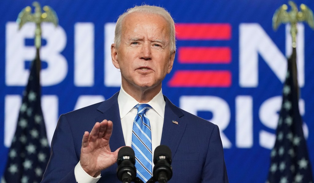 Biden Does Not Declare Victory but Says 'We Believe We Will Be the Winners'