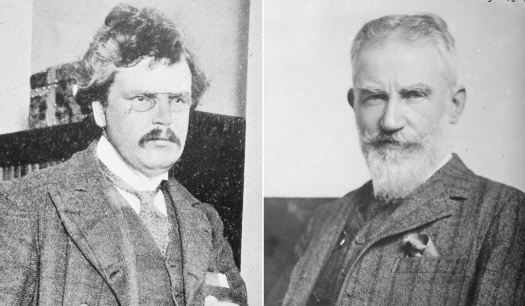 G. K. Chesterton and George Bernard Shaw: An Ambivalent Literary Relationship