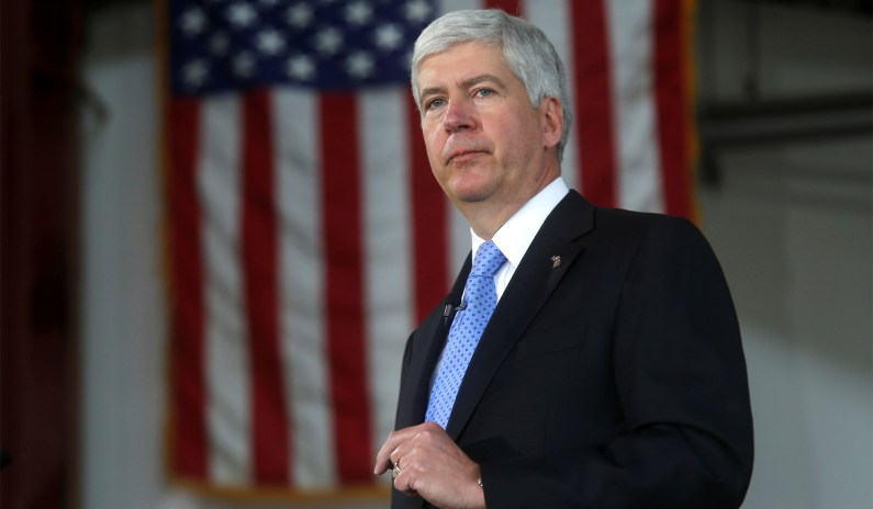 Ex-Michigan Gov. Rick Snyder Charged in Flint Water Scandal