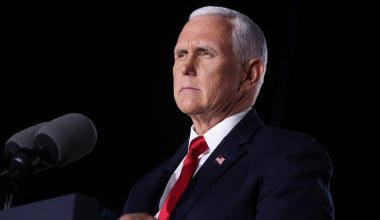 Pence Urges Republicans to Unite against 'Tidal Wave of Leftwing Policies'