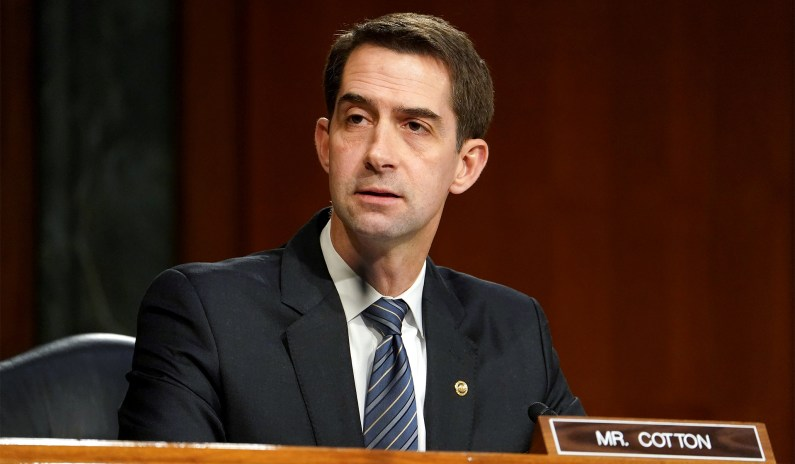 Cotton Tries to Force Dems to Vote on Court-Packing thumbnail