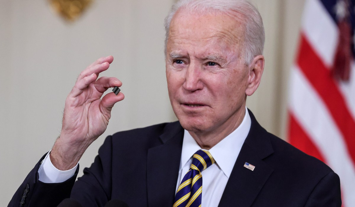 Biden Orders Review of Supply Chain for Semiconductor Chips, Critical Resources | National Review