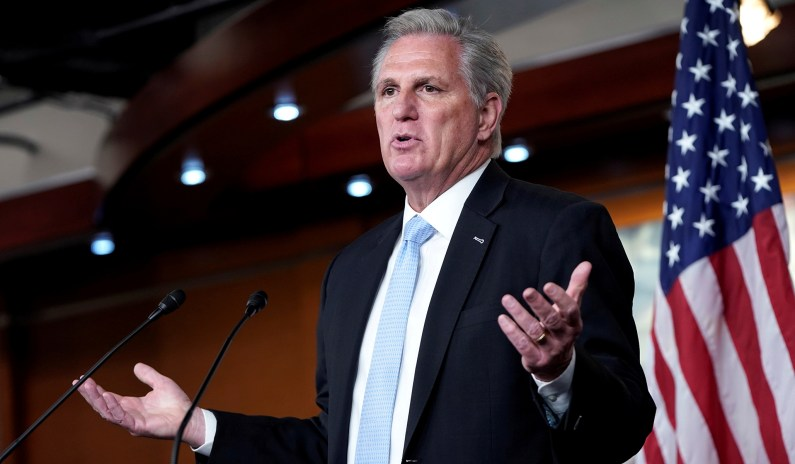 McCarthy Says Biden Pulled a 'Bait and Switch' from Moderate to Socialist thumbnail