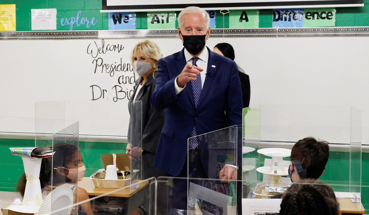 The Nonsense Claim from NBC News that Biden Has Met His School Goal | National Review