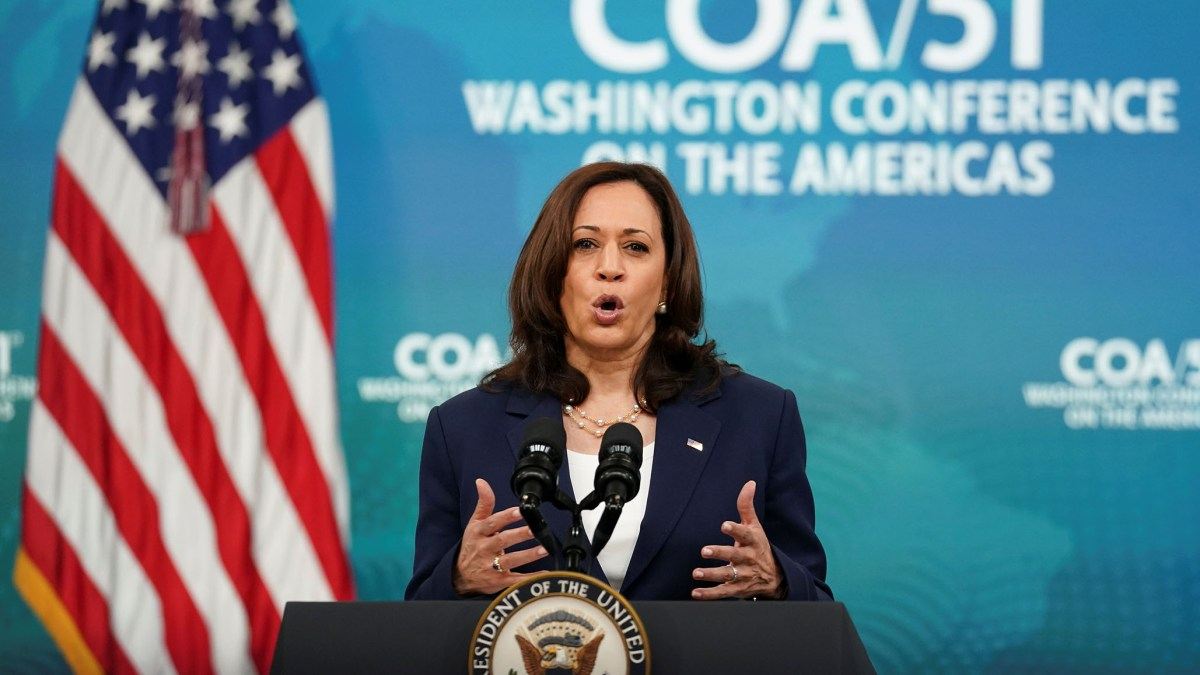 Harris Claims 'Lack of Climate Resilience' among 'Root Causes' of Migration to U.S. | National Review