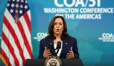 Harris Claims 'Lack of Climate Resilience' among 'Root Causes' of Migration to U.S.