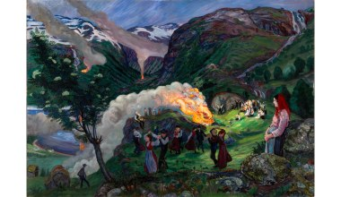 Norwegian Magic and Memories, at the Clark Art Institute