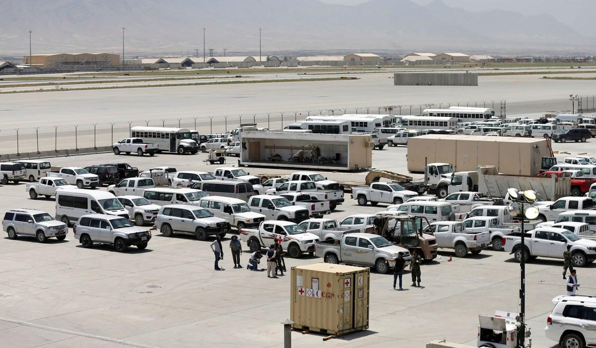 Bagram Air Base – US Left Base Without informing the new Afghan commander