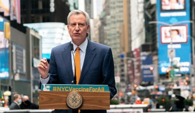 NYC to Mandate Vaccines or Weekly COVID Tests for All City Workers