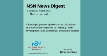 Skill development news May 2016 -2