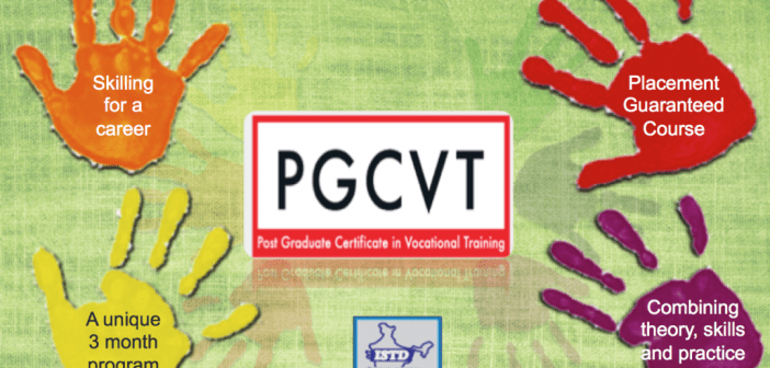 Post graduate certificate in vocational training