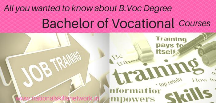 B.Voc Degree