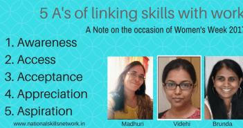 Linking skills and work