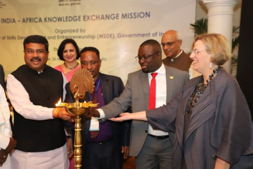 India Africa knowledge sharing in skills1