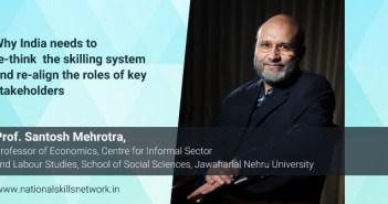 Santosh Mehrotra skill development