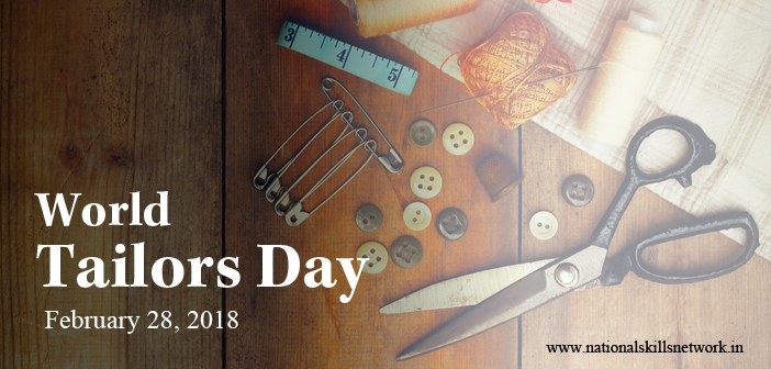 World Tailors Day 2018