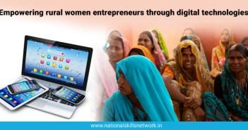 rural women entrepreneurs digital skills