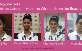 Skills Competition Odisha Beauty Winners