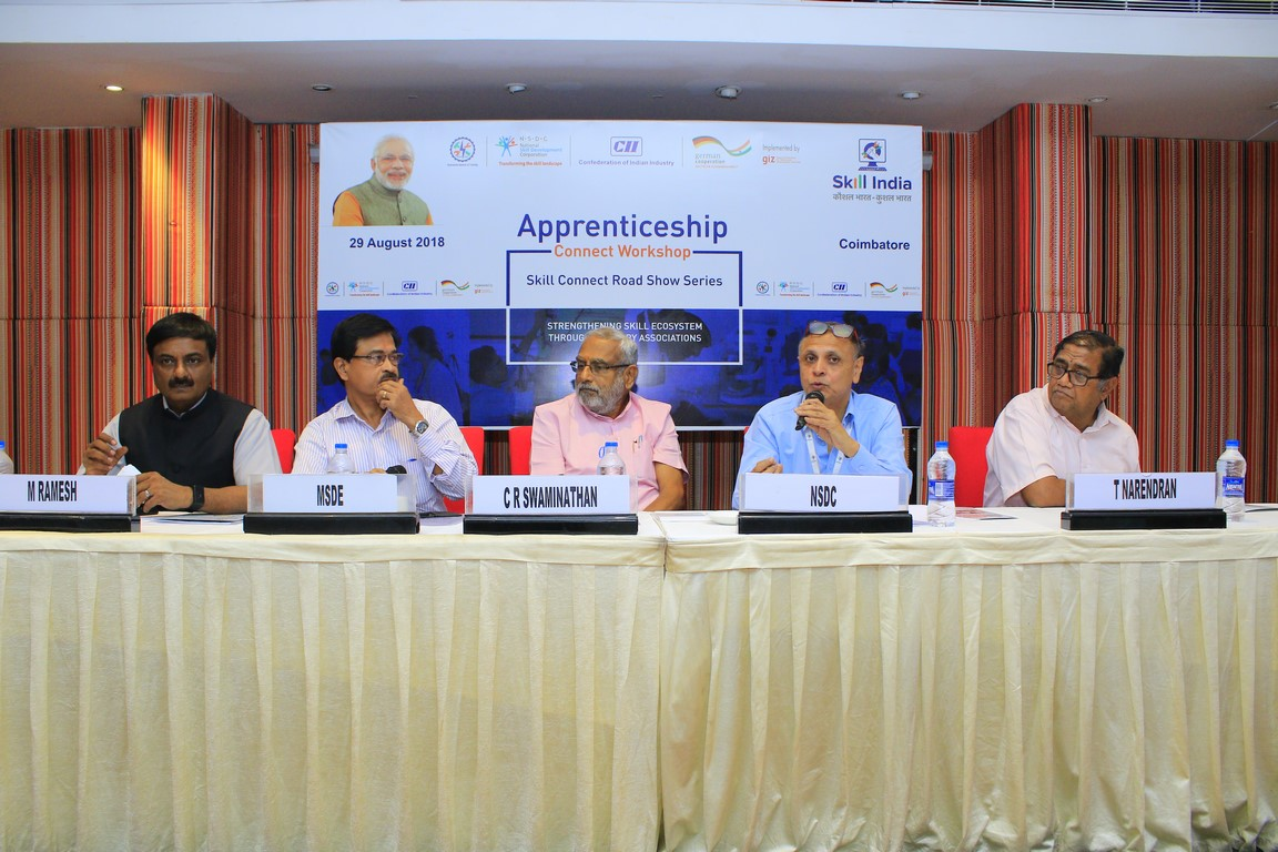 Skill Connect Road Show: NSDC, GIZ and CII address stakeholders