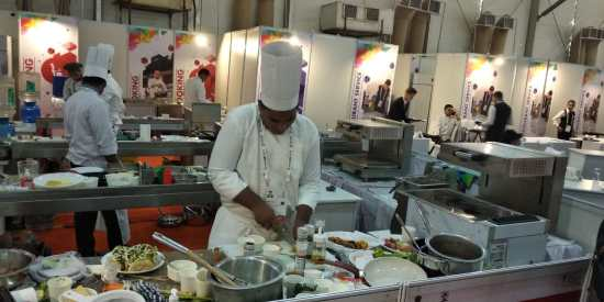 Cooking_participants IndiaSkills 2018