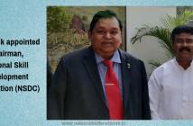 A M Naik Chairman NSDC