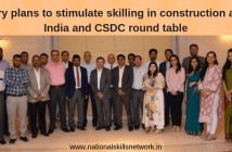 DFID India CSDC construction skills round table