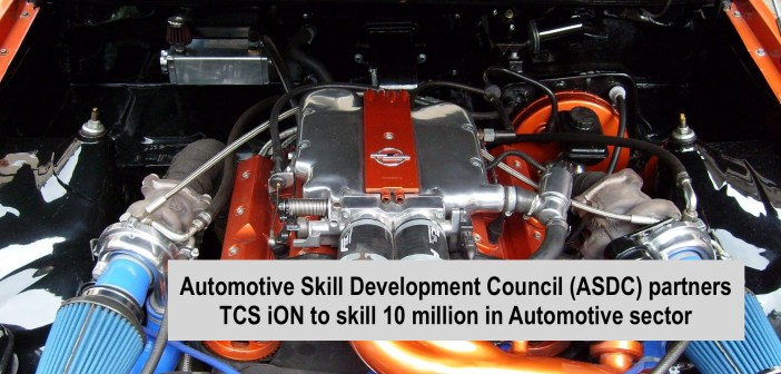 Automotive Skill Development Council (ASDC) partners TCS iON to skill 10 million in Automotive sector