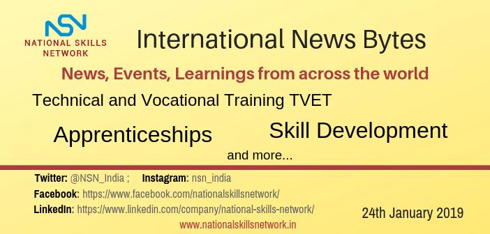 International TVET news 24 January 2019